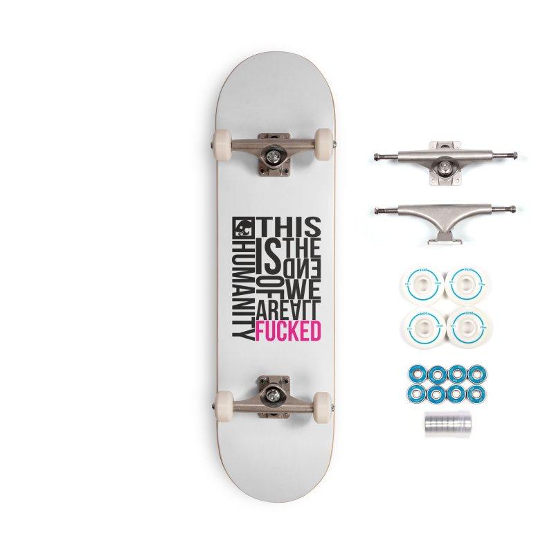 CasaNorte - Note Accessories Skateboard by Casa Norte's Artist Shop