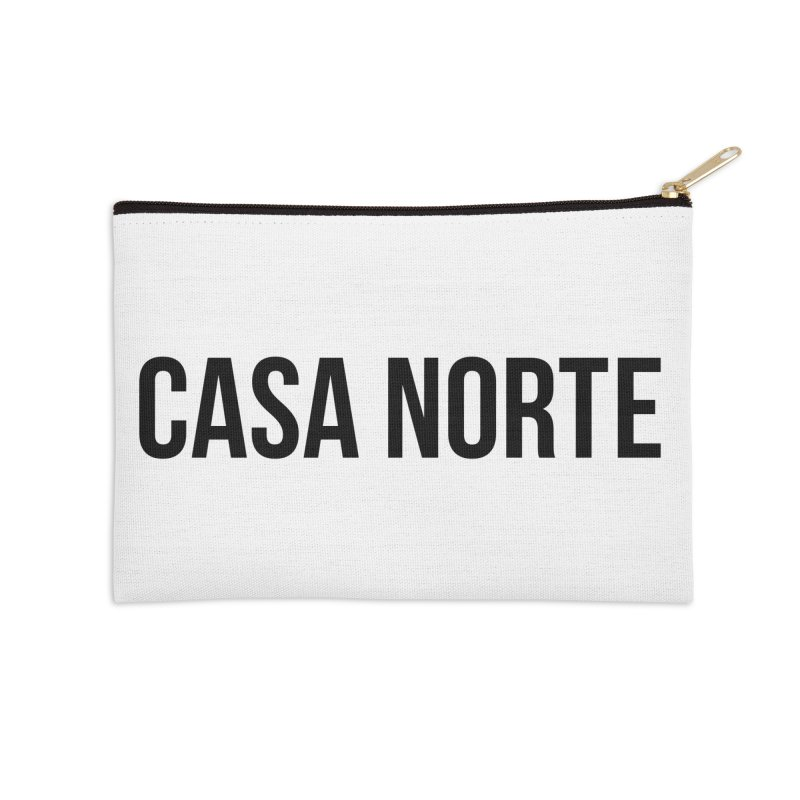 CasaNorte - CasaPlain Accessories Zip Pouch by Casa Norte's Artist Shop