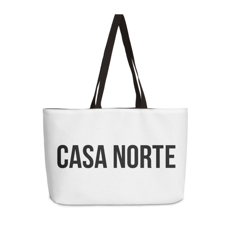 CasaNorte - CasaPlain Accessories Weekender Bag Bag by Casa Norte's Artist Shop