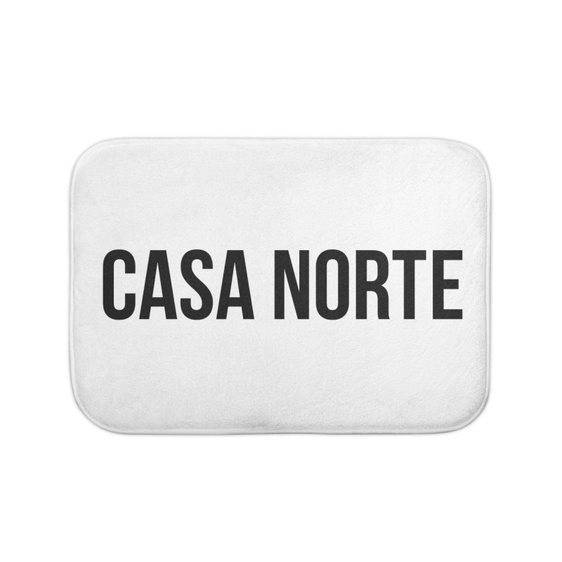 CasaNorte - CasaPlain Home Bath Mat by CasaNorte's Artist Shop