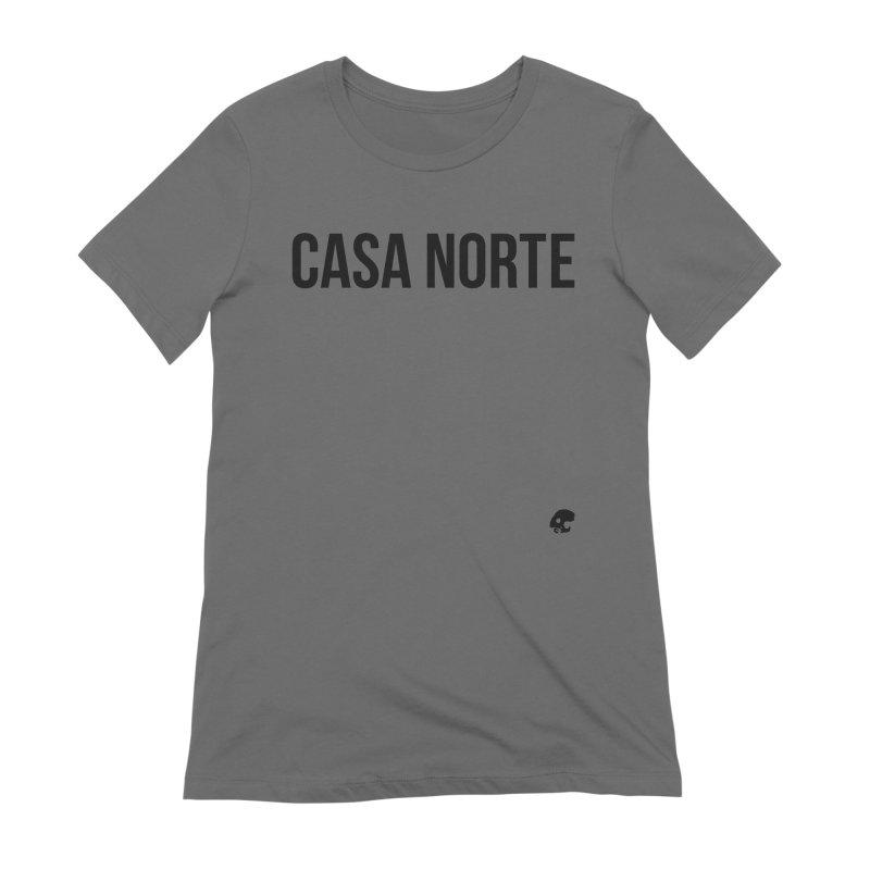 CasaNorte - CasaPlain Women's Extra Soft T-Shirt by Casa Norte's Artist Shop