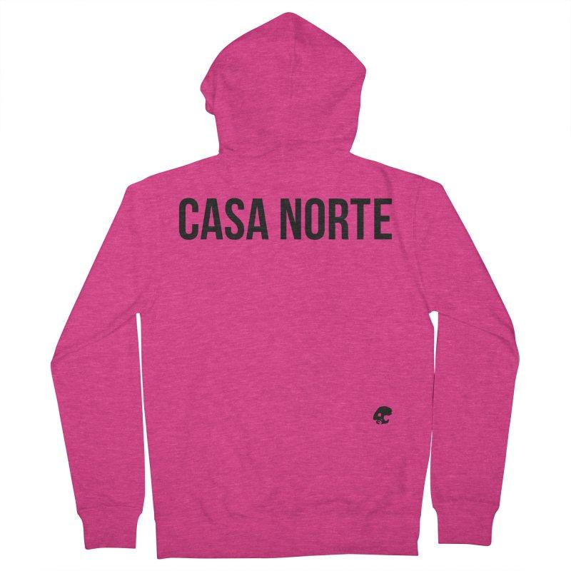 CasaNorte - CasaPlain Women's French Terry Zip-Up Hoody by Casa Norte's Artist Shop