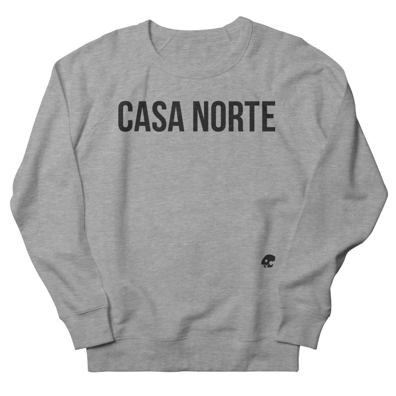 CasaNorte - CasaPlain Men's French Terry Sweatshirt by Casa Norte's Artist Shop