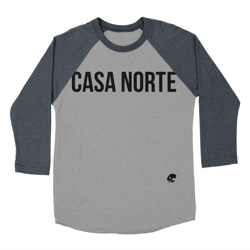 CasaNorte - CasaPlain Women's Baseball Triblend Longsleeve T-Shirt by Casa Norte's Artist Shop