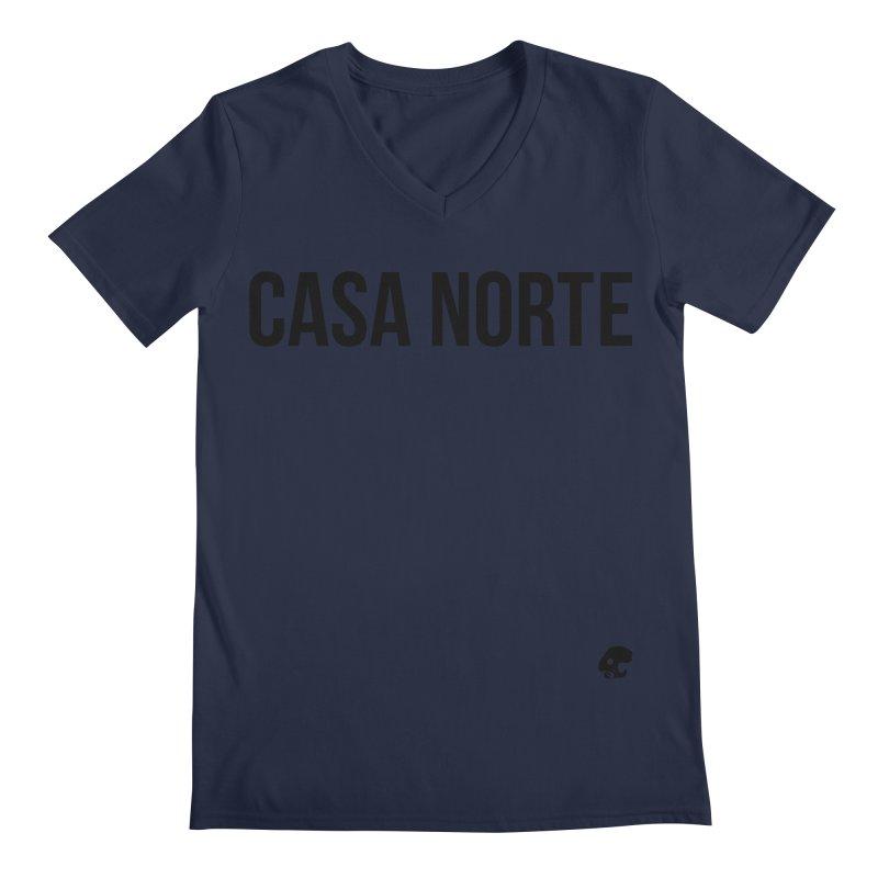 CasaNorte - CasaPlain Men's Regular V-Neck by Casa Norte's Artist Shop