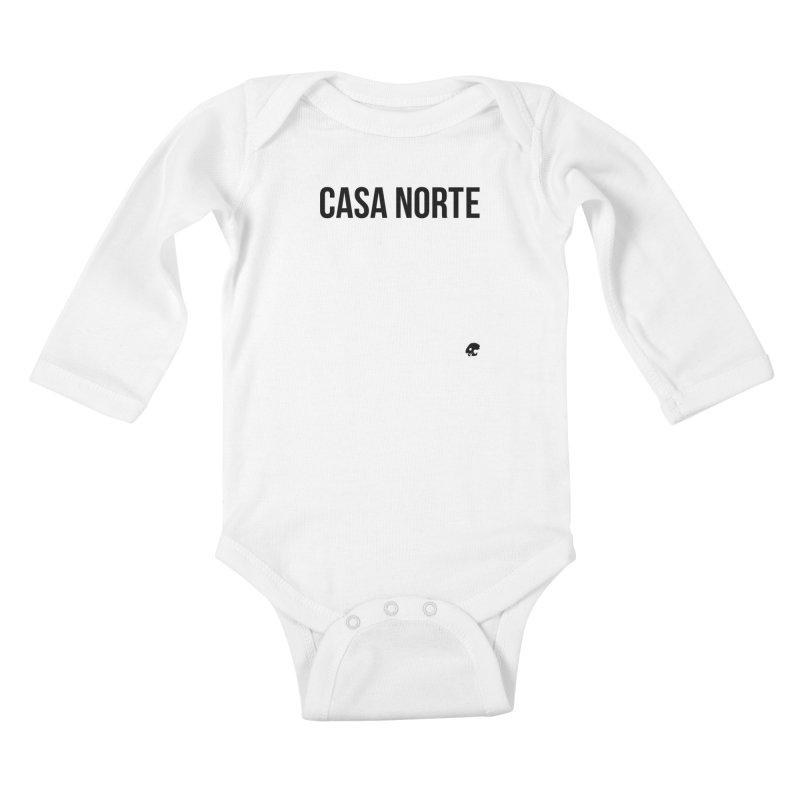 CasaNorte - CasaPlain Kids Baby Longsleeve Bodysuit by CasaNorte's Artist Shop