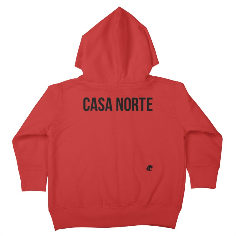 CasaNorte - CasaPlain Kids Toddler Zip-Up Hoody by Casa Norte's Artist Shop