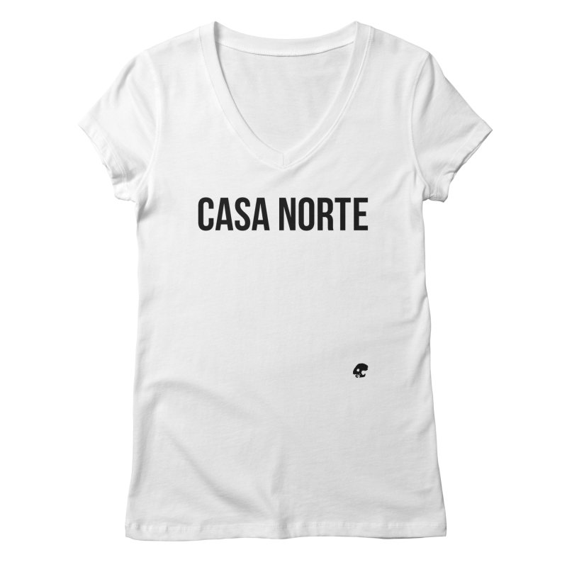CasaNorte - CasaPlain Women's Regular V-Neck by Casa Norte's Artist Shop