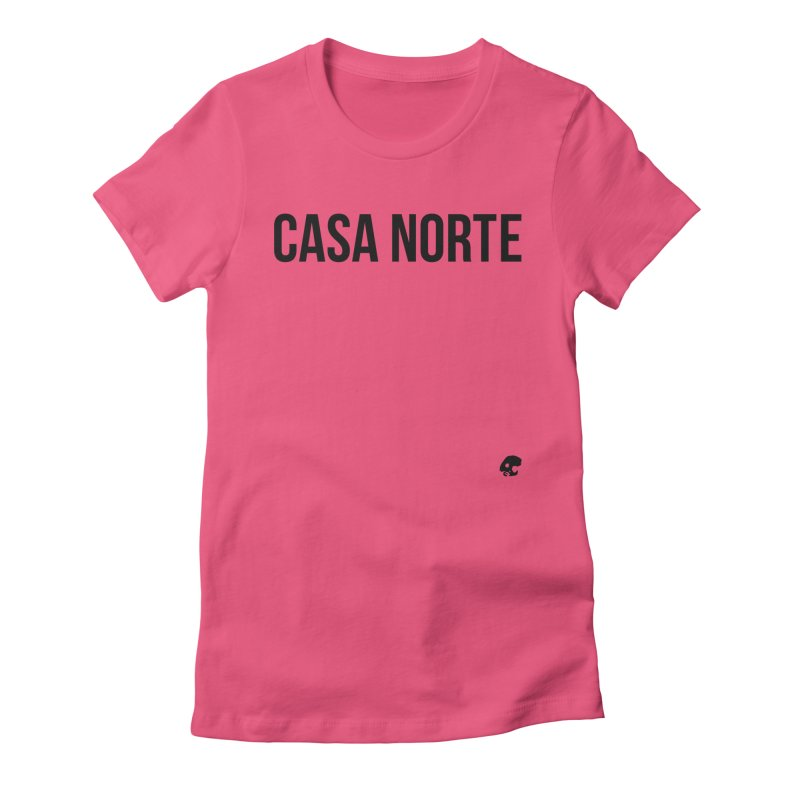 CasaNorte - CasaPlain Women's Fitted T-Shirt by Casa Norte's Artist Shop
