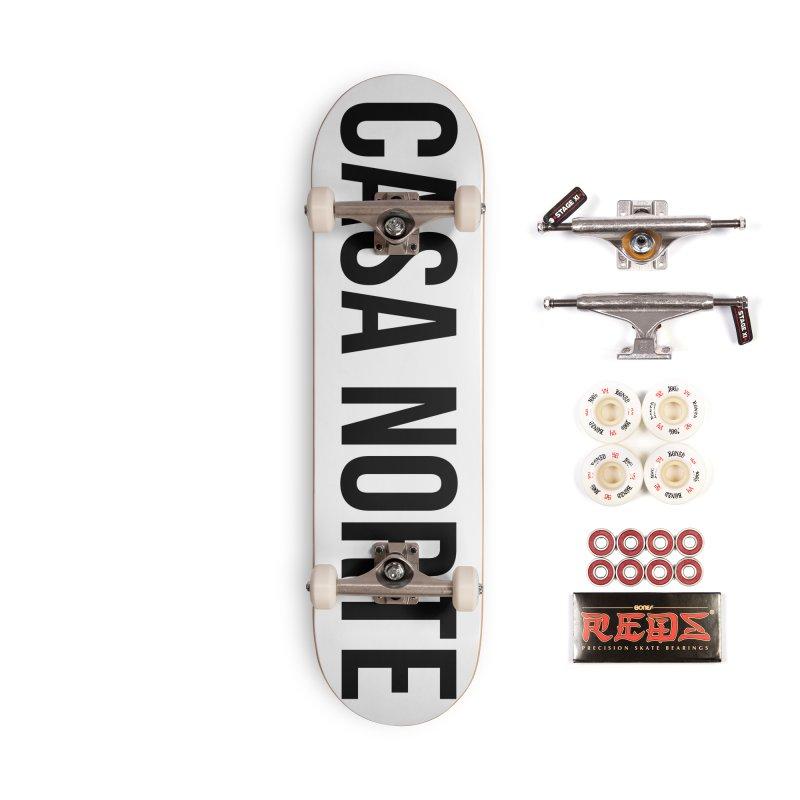 CasaNorte - CasaPlain Accessories Complete - Pro Skateboard by Casa Norte's Artist Shop
