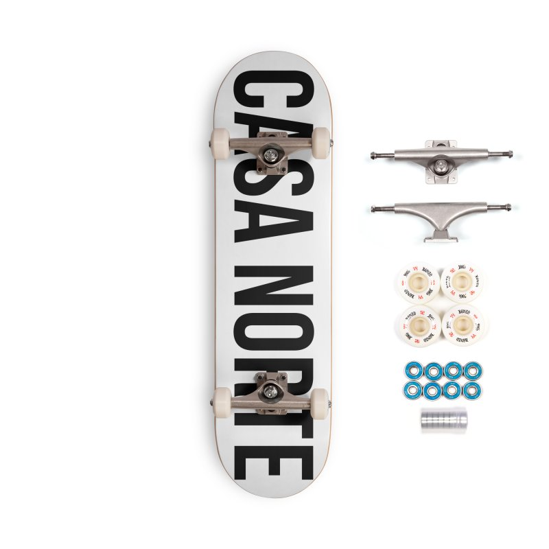 CasaNorte - CasaPlain Accessories Complete - Premium Skateboard by Casa Norte's Artist Shop