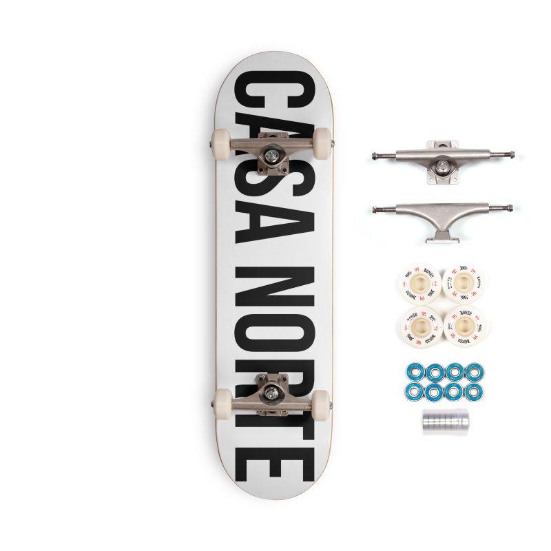 CasaNorte - CasaPlain Accessories Skateboard by Casa Norte's Artist Shop