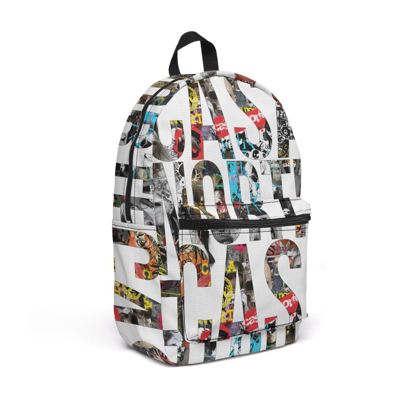 CasaNorte - CNWorldLetters Accessories Backpack Bag by Casa Norte's Artist Shop