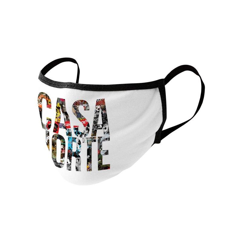 CasaNorte - CNWorldLetters Accessories Face Mask by Casa Norte's Artist Shop