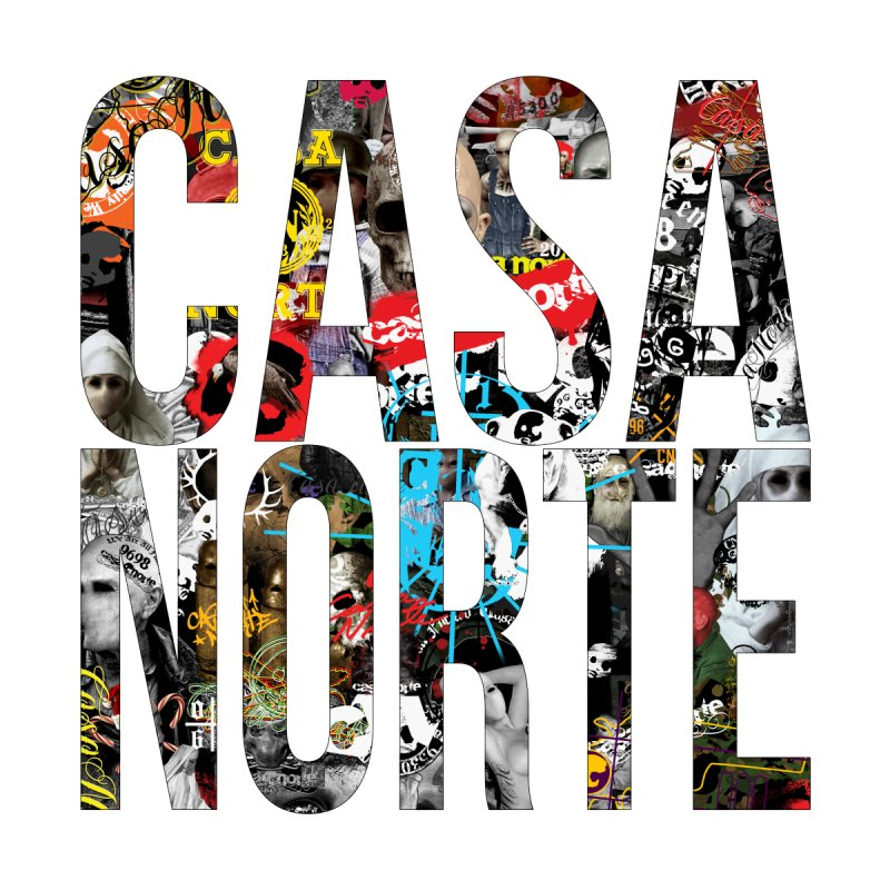 CasaNorte - CNWorldLetters Accessories Bag by Casa Norte's Artist Shop