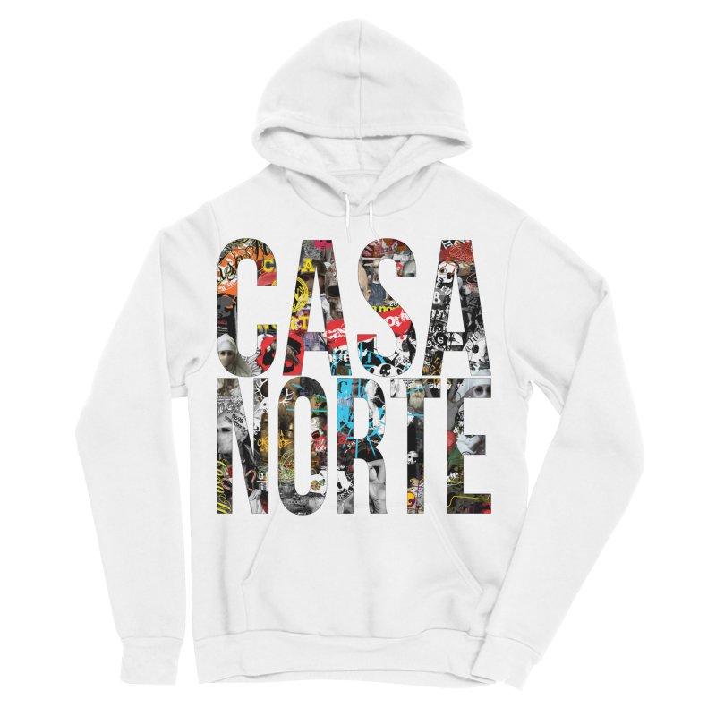 CasaNorte - CNWorldLetters Women's Pullover Hoody by Casa Norte's Artist Shop