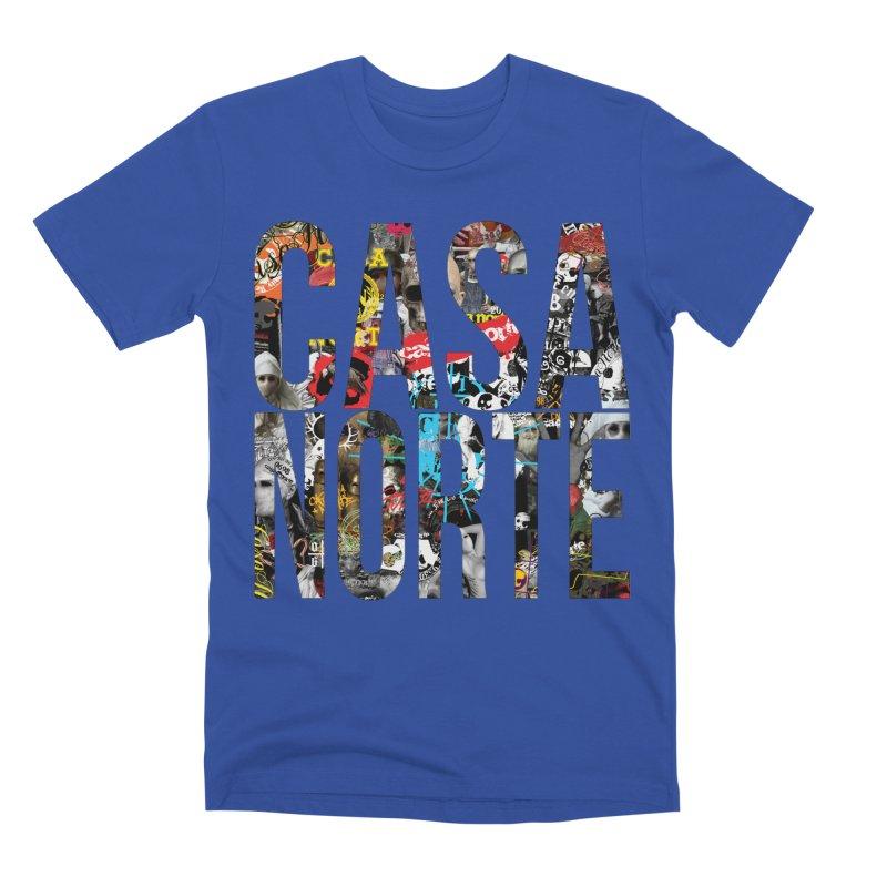 CasaNorte - CNWorldLetters Men's T-Shirt by Casa Norte's Artist Shop