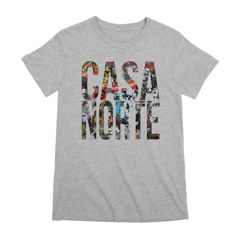CasaNorte - CNWorldLetters Women's Premium T-Shirt by Casa Norte's Artist Shop