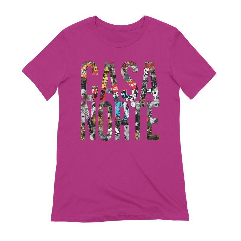CasaNorte - CNWorldLetters Women's Extra Soft T-Shirt by Casa Norte's Artist Shop