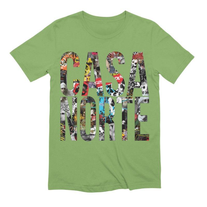 CasaNorte - CNWorldLetters Men's Extra Soft T-Shirt by Casa Norte's Artist Shop