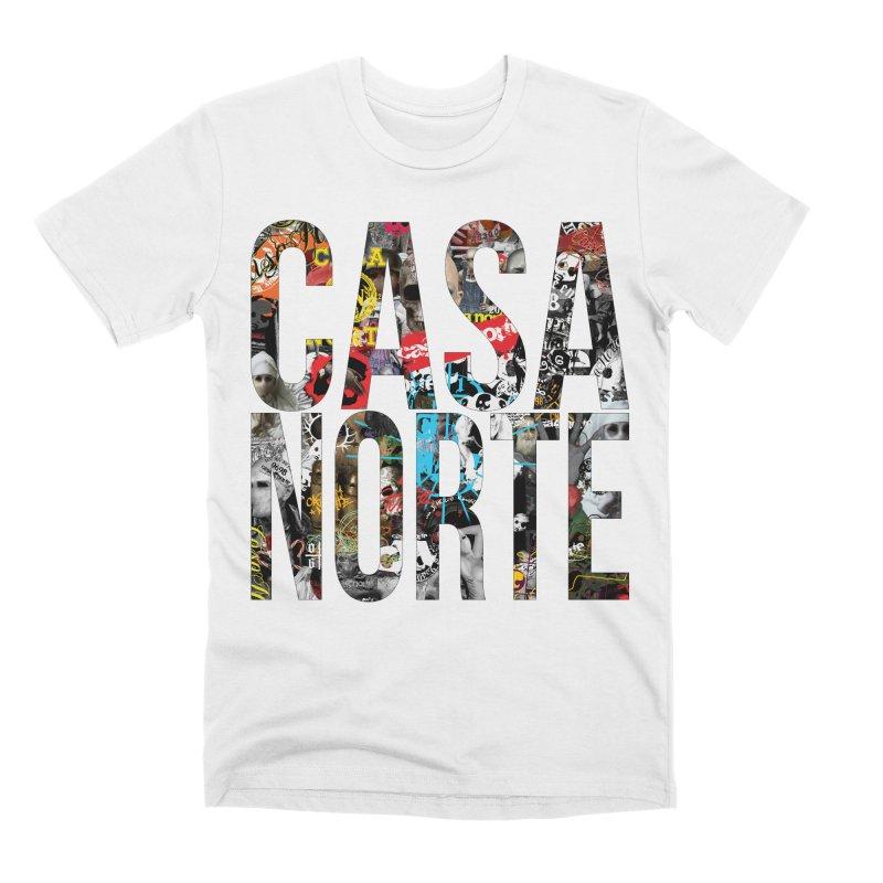 CasaNorte - CNWorldLetters Men's Premium T-Shirt by Casa Norte's Artist Shop