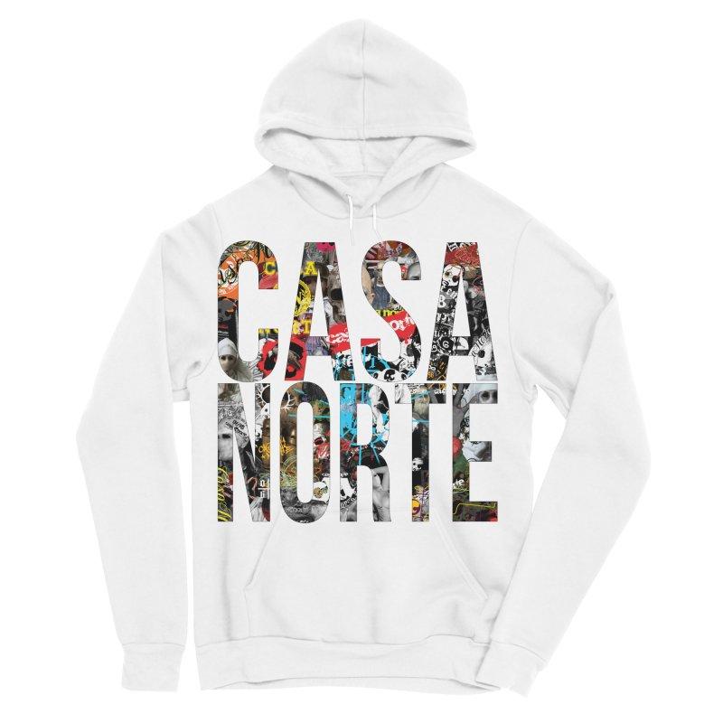 CasaNorte - CNWorldLetters Men's Sponge Fleece Pullover Hoody by Casa Norte's Artist Shop