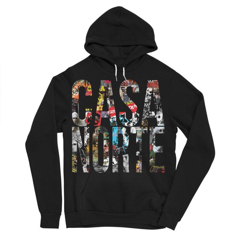 CasaNorte - CNWorldLetters Women's Sponge Fleece Pullover Hoody by Casa Norte's Artist Shop