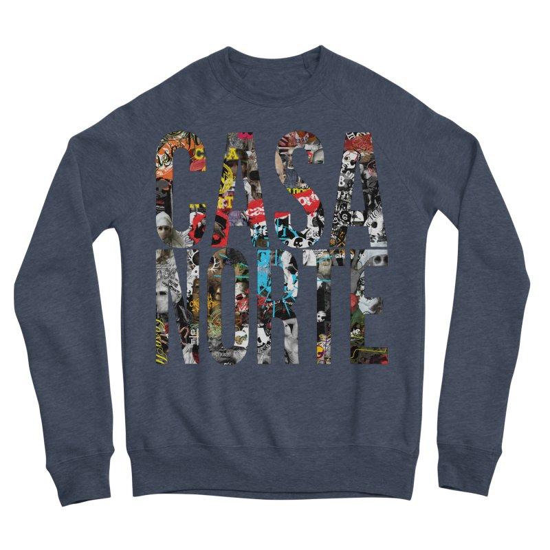 CasaNorte - CNWorldLetters Men's Sponge Fleece Sweatshirt by Casa Norte's Artist Shop