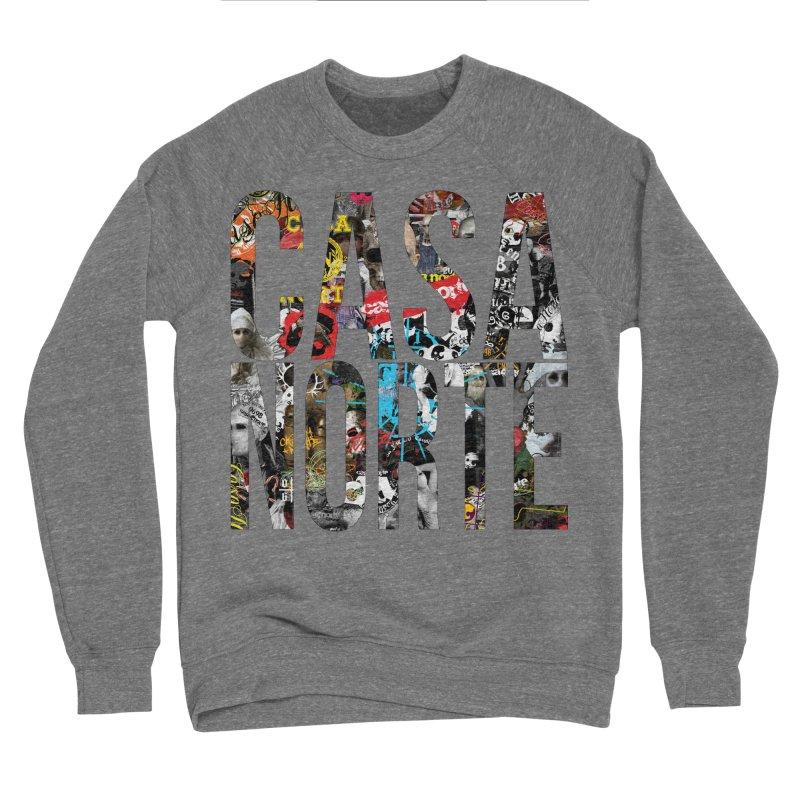 CasaNorte - CNWorldLetters Women's Sponge Fleece Sweatshirt by Casa Norte's Artist Shop