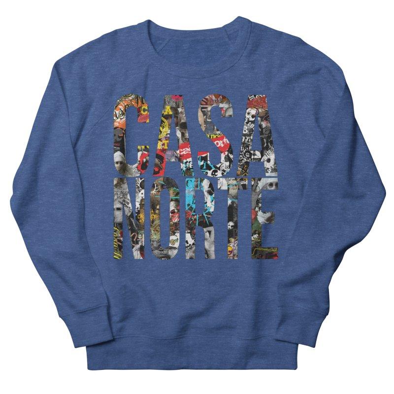 CasaNorte - CNWorldLetters Men's Sweatshirt by Casa Norte's Artist Shop