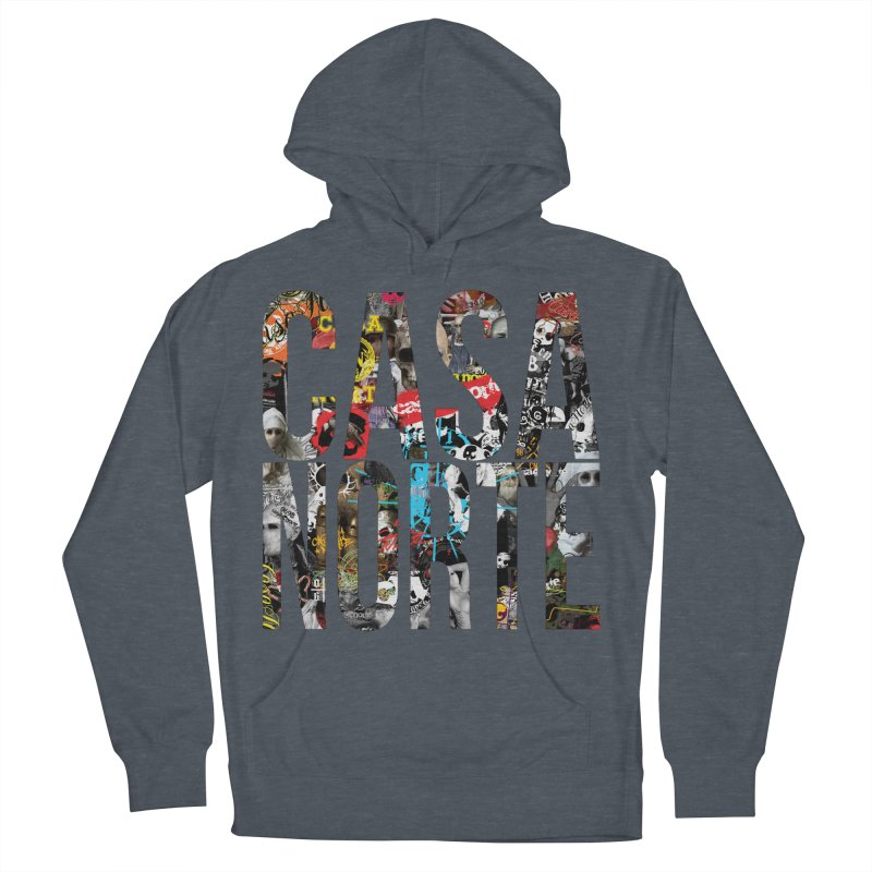 CasaNorte - CNWorldLetters Women's French Terry Pullover Hoody by Casa Norte's Artist Shop