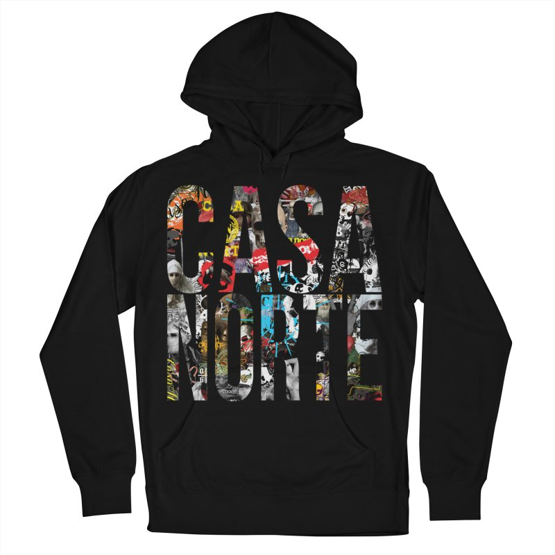 CasaNorte - CNWorldLetters Men's French Terry Pullover Hoody by Casa Norte's Artist Shop
