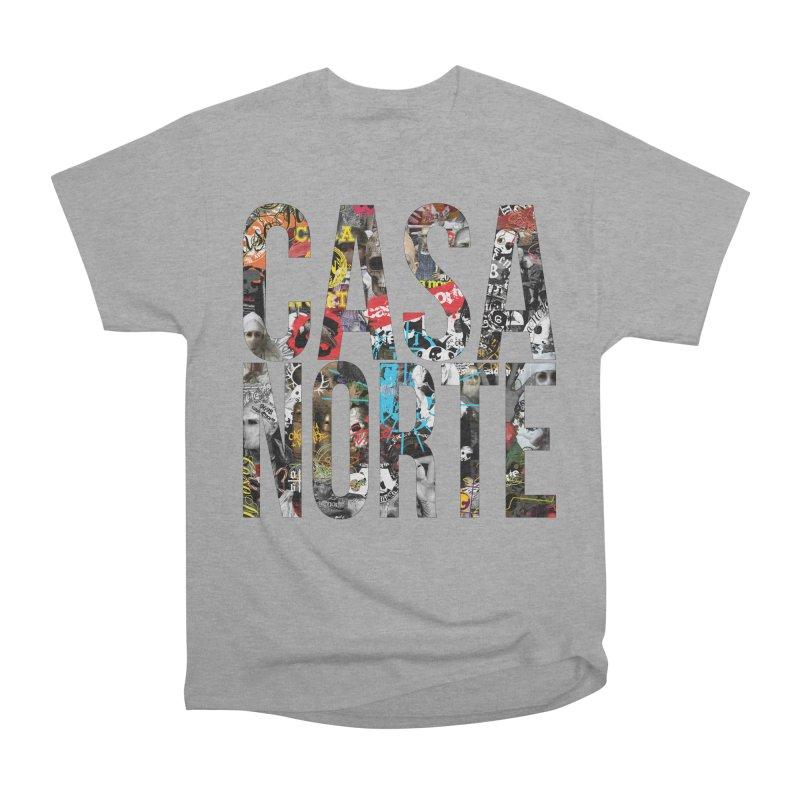 CasaNorte - CNWorldLetters Men's Heavyweight T-Shirt by Casa Norte's Artist Shop