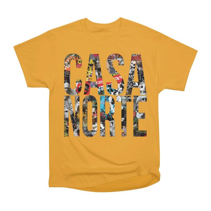 CasaNorte - CNWorldLetters Women's Heavyweight Unisex T-Shirt by Casa Norte's Artist Shop