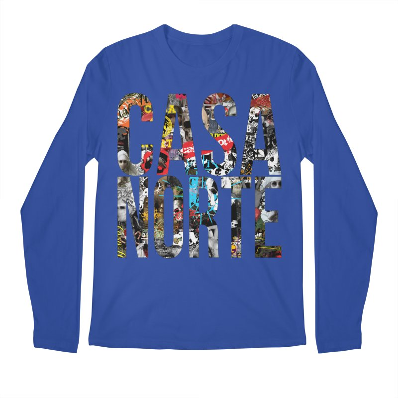CasaNorte - CNWorldLetters Men's Regular Longsleeve T-Shirt by Casa Norte's Artist Shop