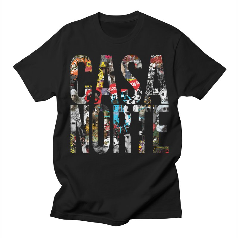 CasaNorte - CNWorldLetters Men's Regular T-Shirt by Casa Norte's Artist Shop