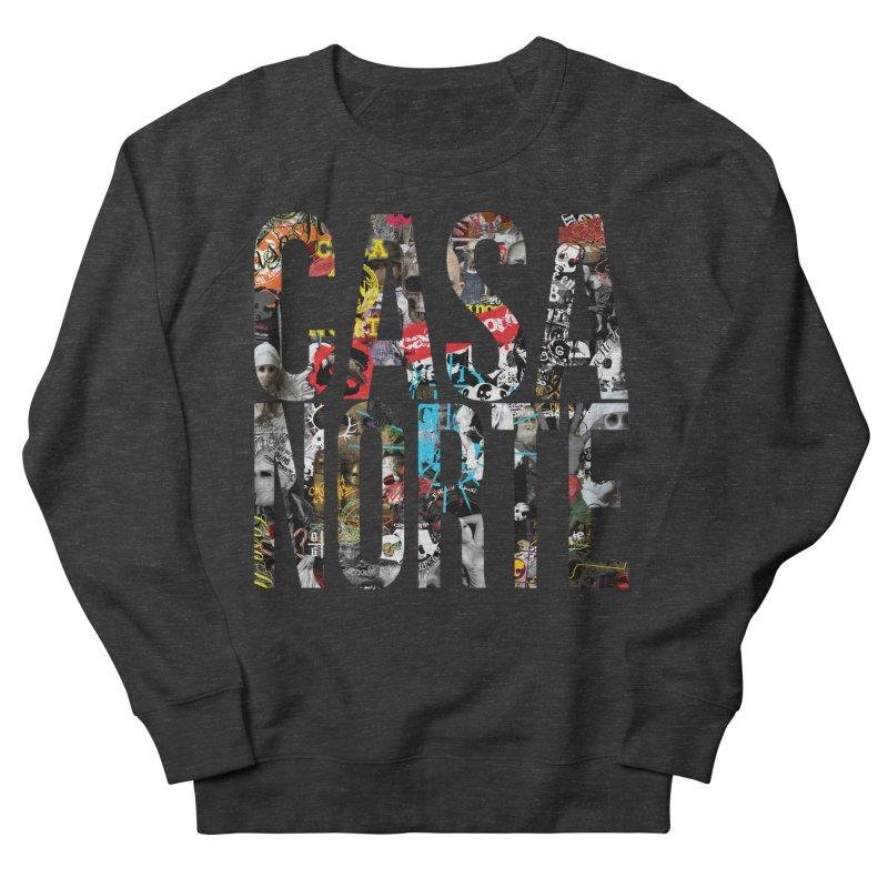 CasaNorte - CNWorldLetters Women's French Terry Sweatshirt by Casa Norte's Artist Shop