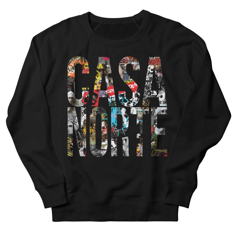CasaNorte - CNWorldLetters Women's French Terry Sweatshirt by Casa Norte's Artist Shop