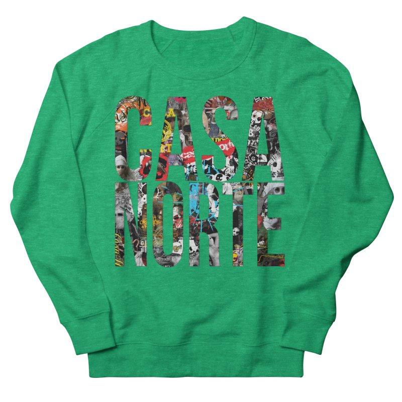 CasaNorte - CNWorldLetters Men's French Terry Sweatshirt by Casa Norte's Artist Shop