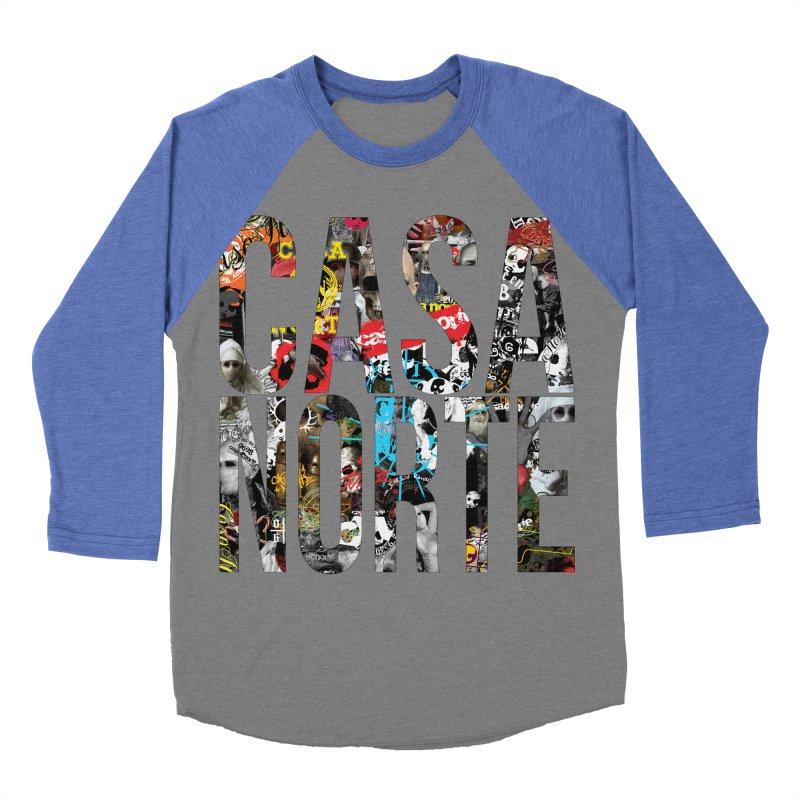 CasaNorte - CNWorldLetters Women's Baseball Triblend Longsleeve T-Shirt by Casa Norte's Artist Shop