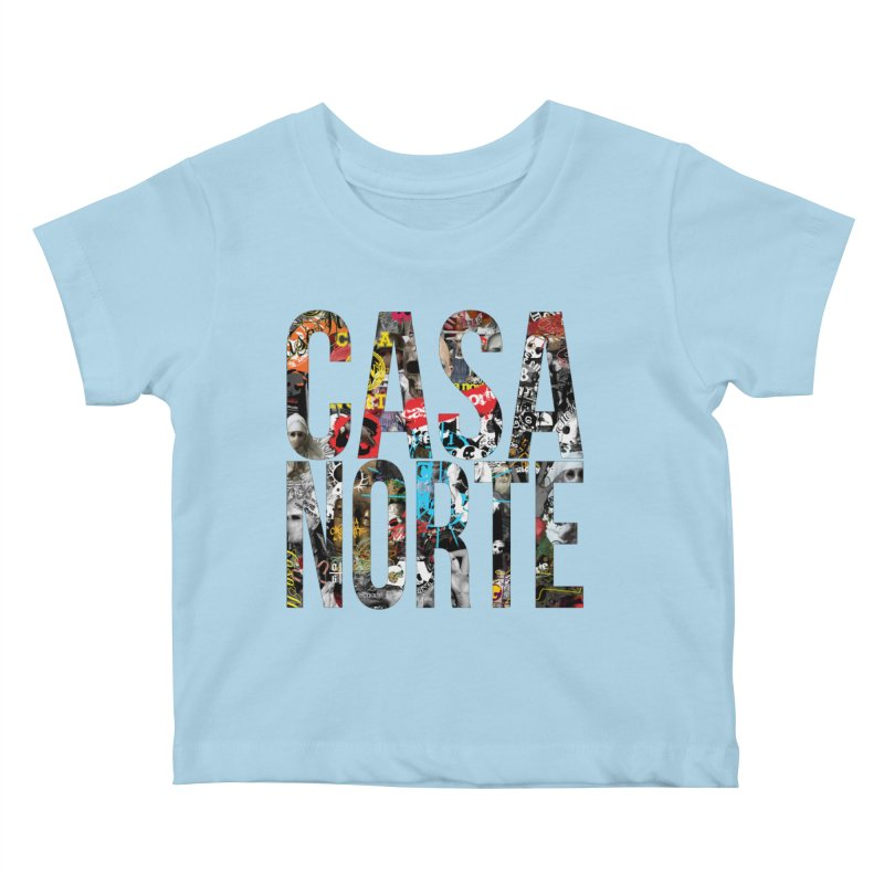 CasaNorte - CNWorldLetters Kids Baby T-Shirt by Casa Norte's Artist Shop