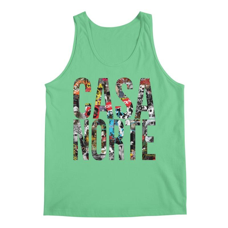 CasaNorte - CNWorldLetters Men's Regular Tank by Casa Norte's Artist Shop