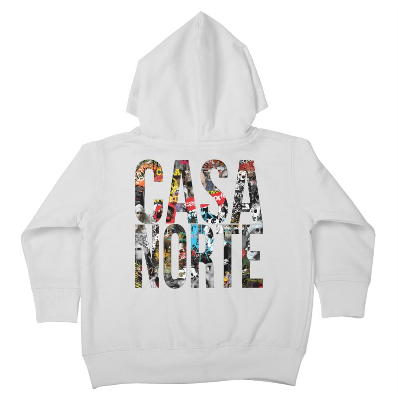 CasaNorte - CNWorldLetters Kids Toddler Zip-Up Hoody by Casa Norte's Artist Shop