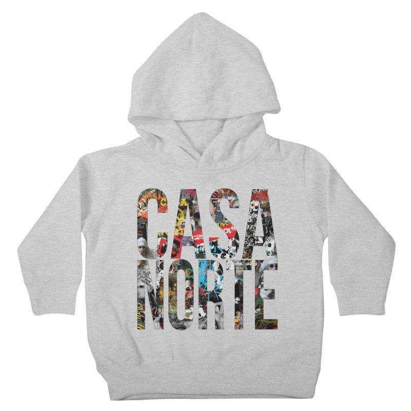 CasaNorte - CNWorldLetters Kids Toddler Pullover Hoody by Casa Norte's Artist Shop