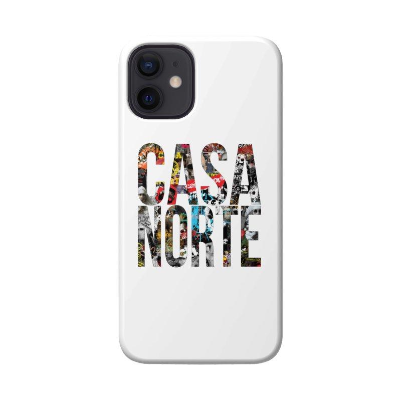 CasaNorte - CNWorldLetters Accessories Phone Case by Casa Norte's Artist Shop
