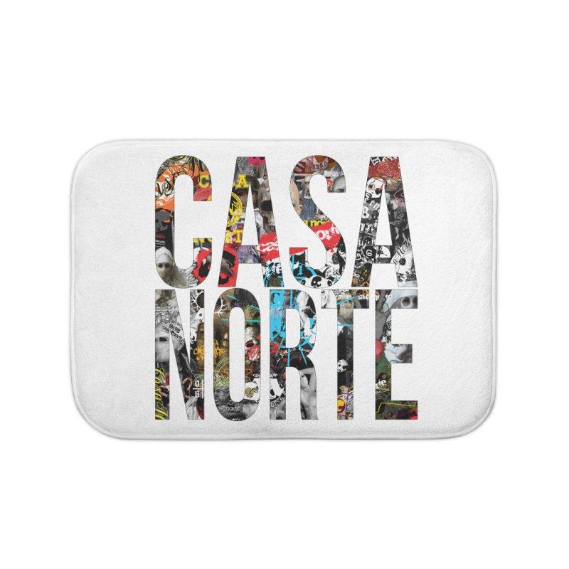CasaNorte - CNWorldLetters Home Bath Mat by Casa Norte's Artist Shop