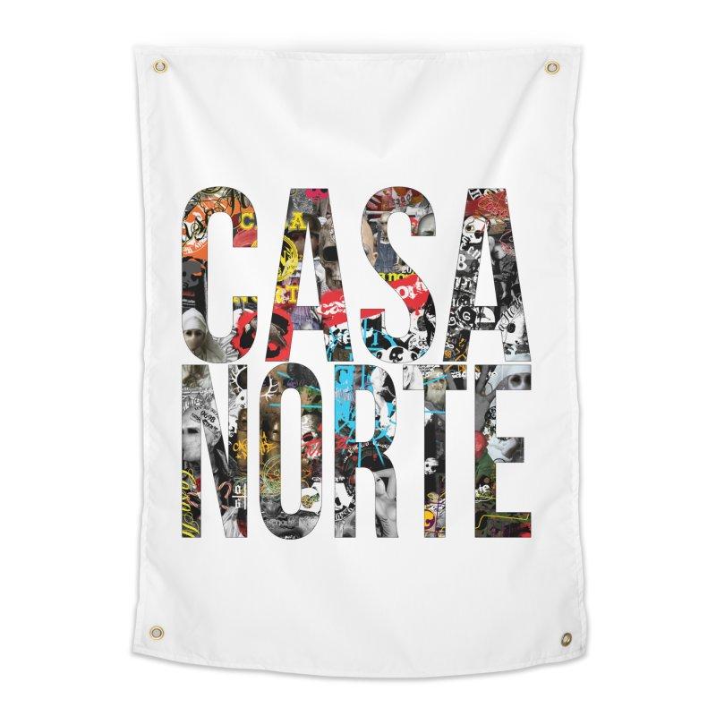 CasaNorte - CNWorldLetters Home Tapestry by Casa Norte's Artist Shop