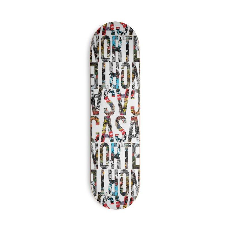 CasaNorte - CNWorldLetters Accessories Skateboard by Casa Norte's Artist Shop