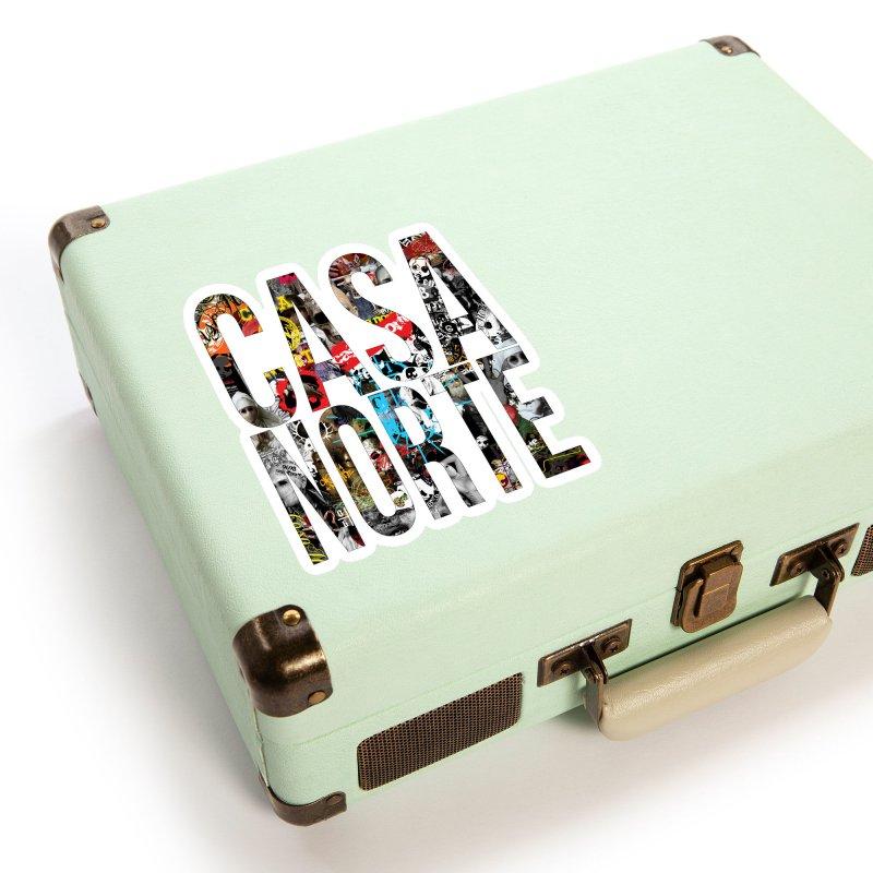 CasaNorte - CNWorldLetters Accessories Sticker by Casa Norte's Artist Shop