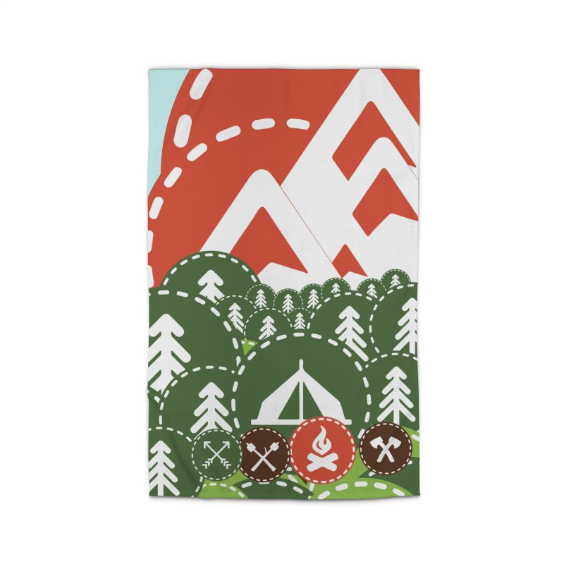 Camping Maniacs - Camp Home Rug by Casa Norte's Artist Shop